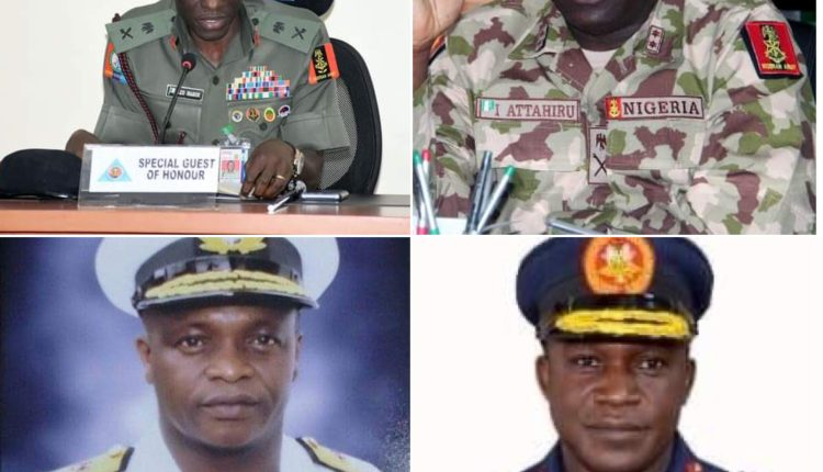 Meet Newly Appointed Service Chiefs