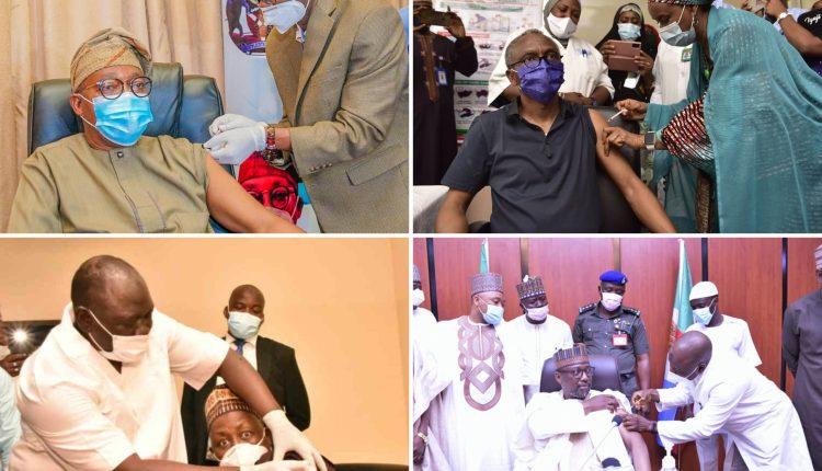 Governors Of Osun, Kaduna, Niger, Zamfara Receive COVID-19 Vaccines