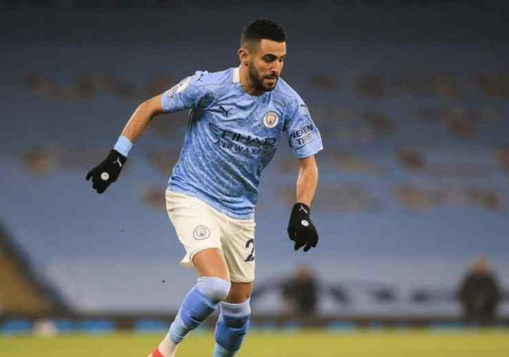 Mahrez has given the man of the match.