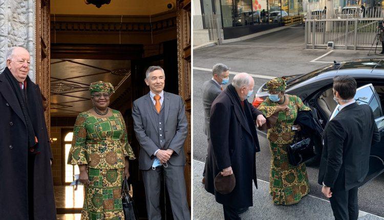 Ngozi Okonjo-Iweala Makes Statement With Beautiful Ankara Dress As She Resumes As WTO DG Today