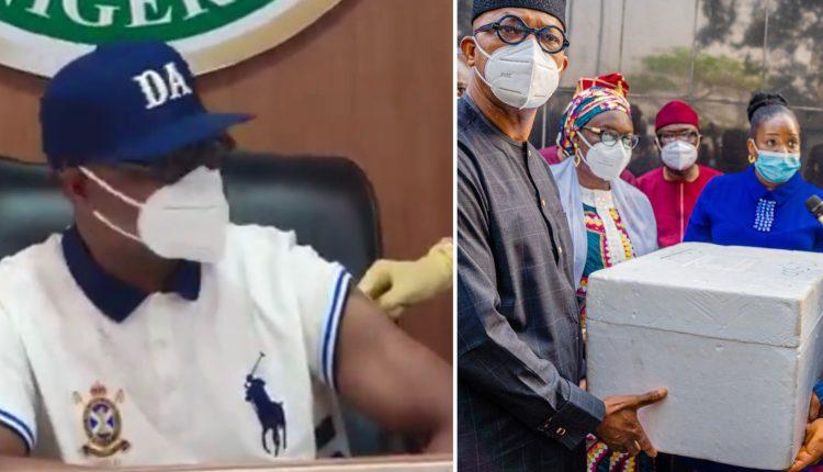 Gov Dapo Abiodun Gets Vaccinated As Ogun Receives 50,000 Doses Of Oxford/AstraZeneca Vaccine