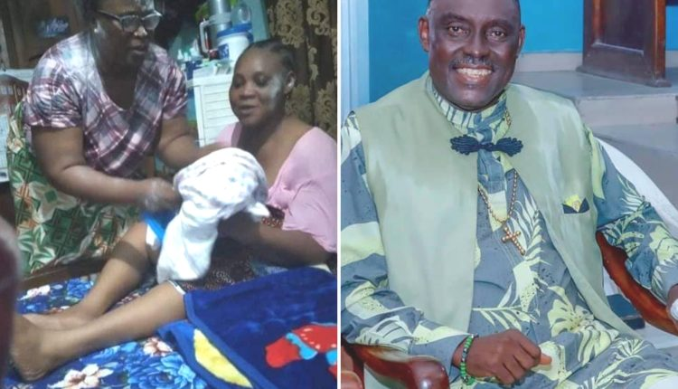 Gospel Artiste, Quincy Tebite Dtisio And Wife Welcome First Child After 27 Years Of Marriage