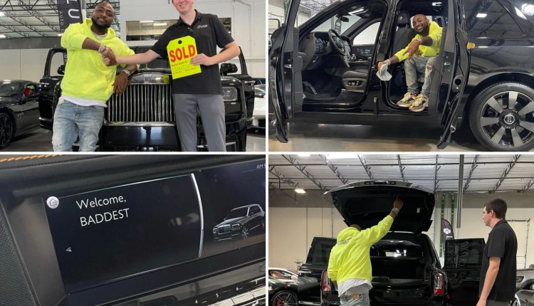 Davido Acquires 2021 Rolls Royce Cullinan Worth About $500,000