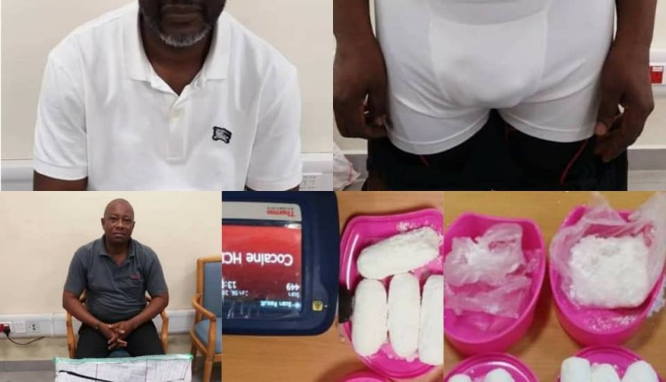 Uber Driver, 2 Traffickers Arrested With Cocaine At Lagos Airport