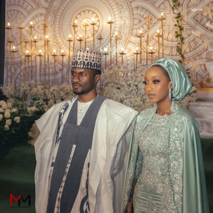 Yusuf Buhari Wed Zahra Bayero With N500k Dowry