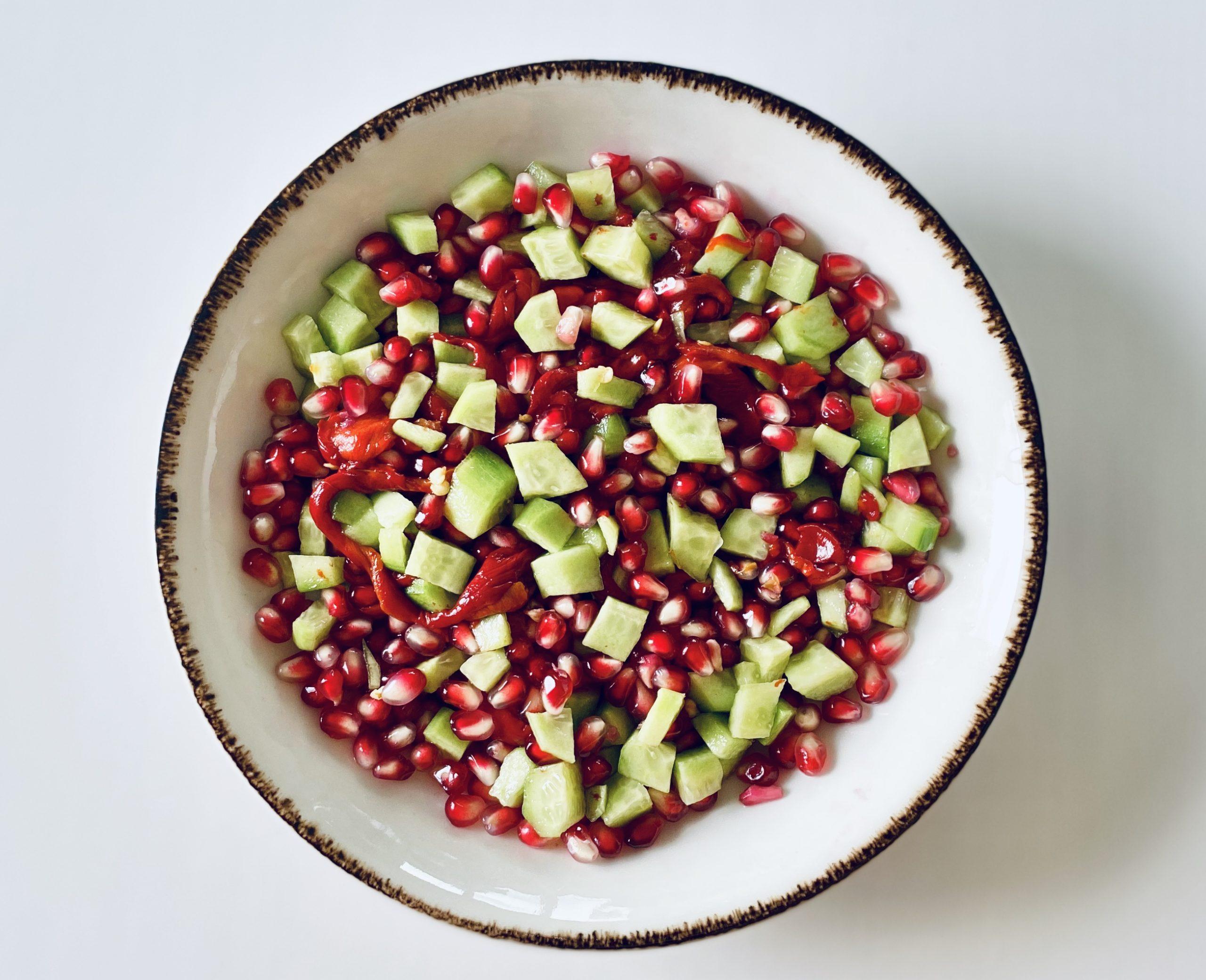 Köz Biberli & Narlı Salata