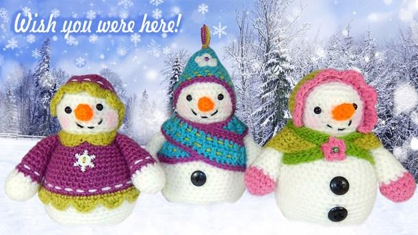 SnowladyPostcard