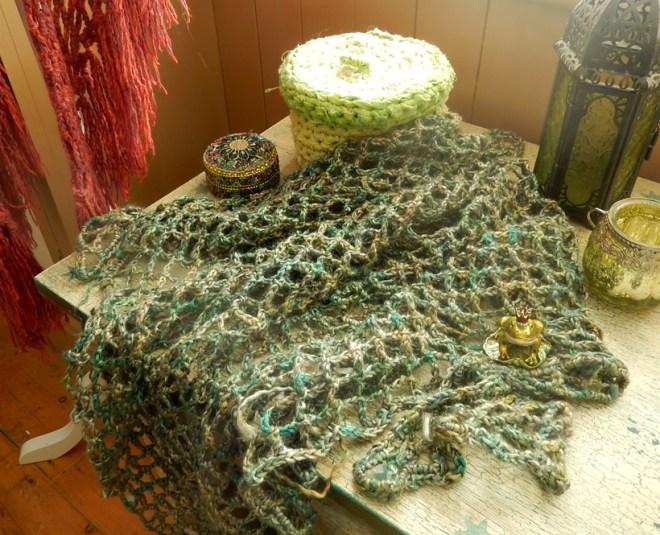 Mermaid-Shawl