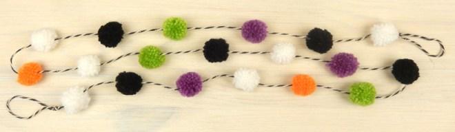 Pompom-string