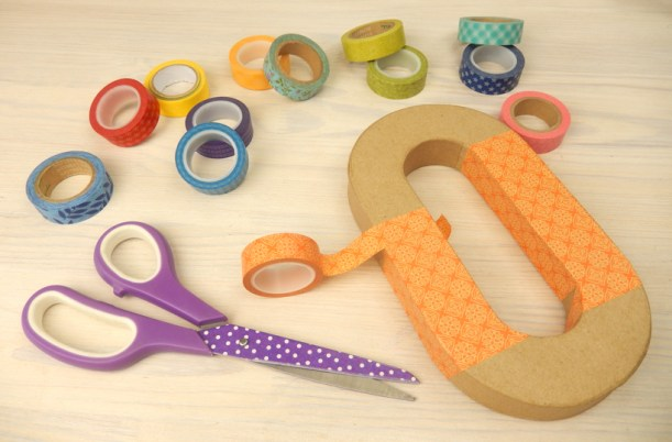 Washi-letters