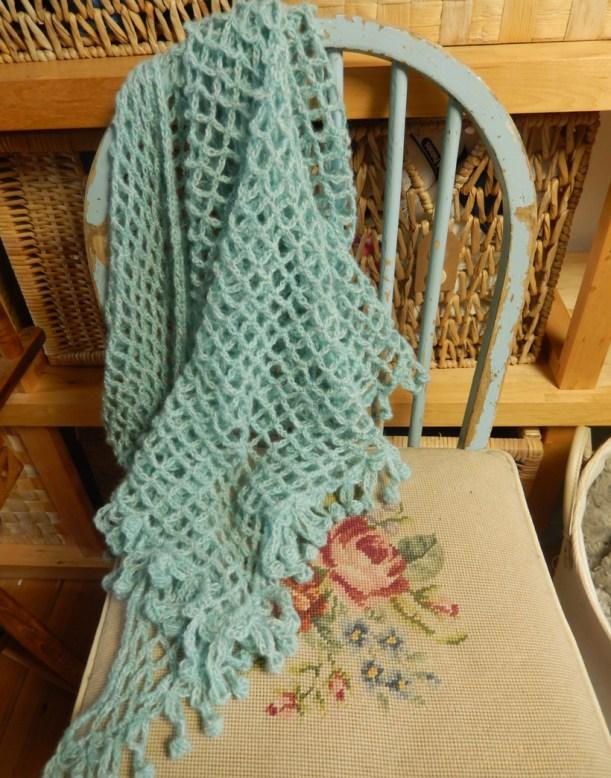 aqua-shawl