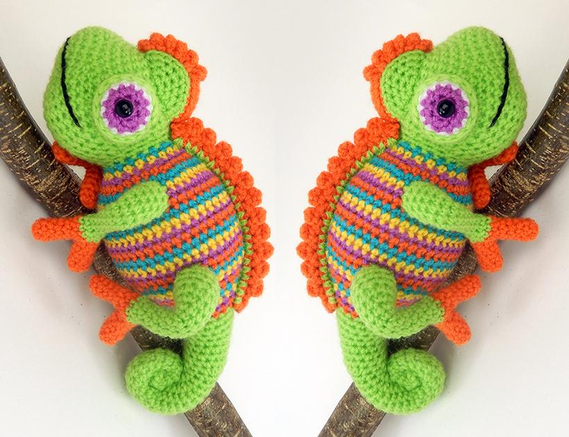 Camelia The Chameleon Moji Moji Design