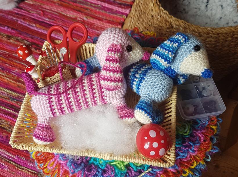 Basset dog amigurumi pattern 1 (3) - free cross stitch patterns ... | 609x820