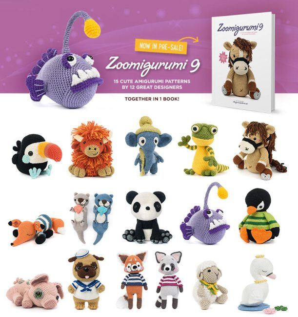 New book by by lilleliis - Cuddly Amigurumi Toys ... | 649x611