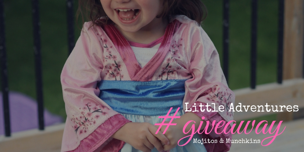 *GIVEAWAY* and Partnership with Little Adventures Dress-Up