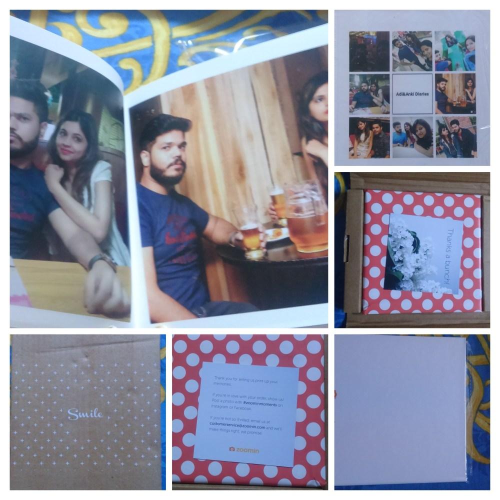 Collage of Zoomin PhotoAlbum