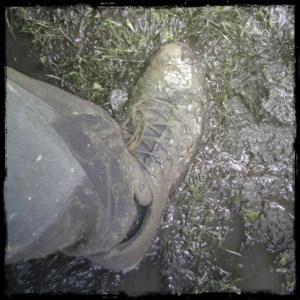 Buty stawały się co raz cięższe...