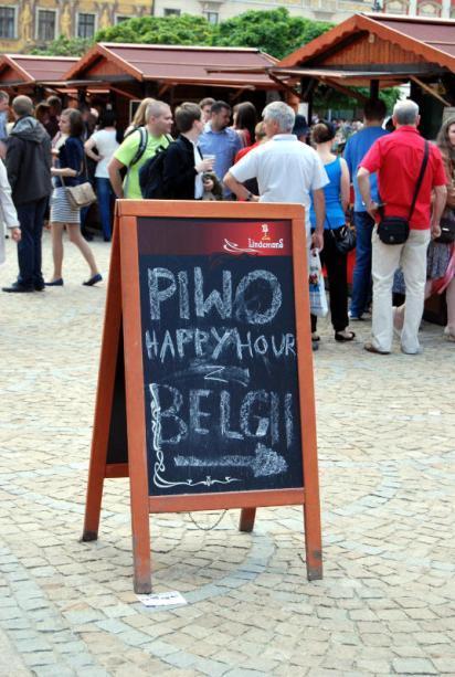 Happy Hour na piwa belgijskie