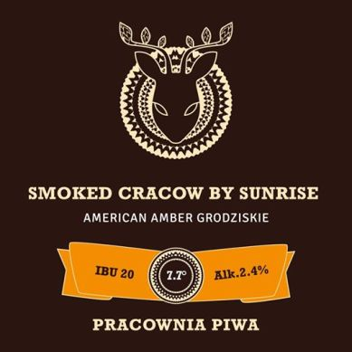 Smoked Cracow by sunrise