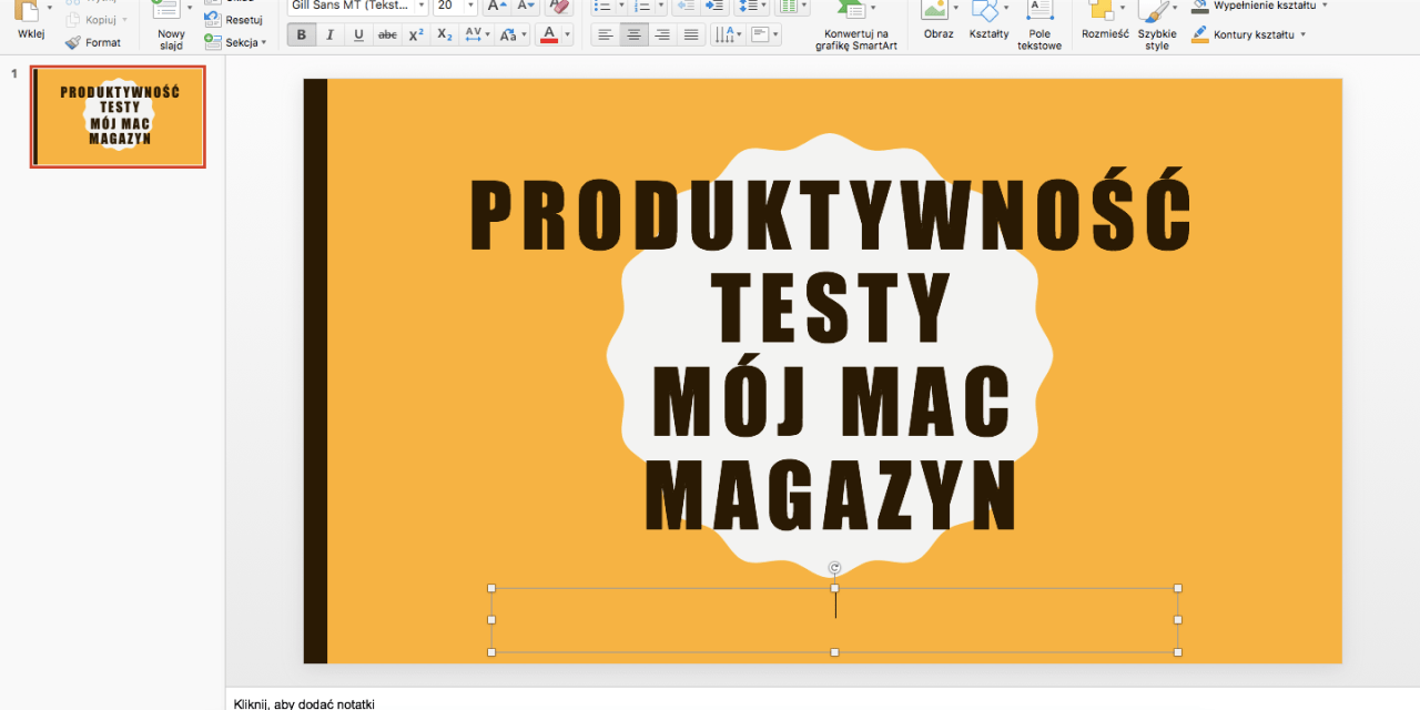 Microsoft Office 365 dla macOS. Produktywność absolutna