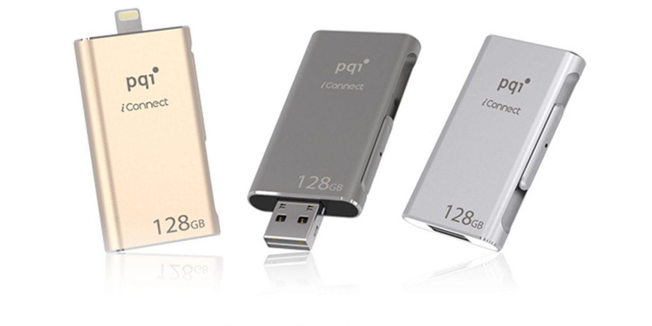 PQI iConnect gdy miejsca w iPhonie zabraknie. Z archiwum MMM