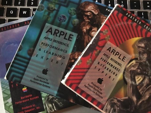 ARPLE CD płyty dla oartnerów Apple