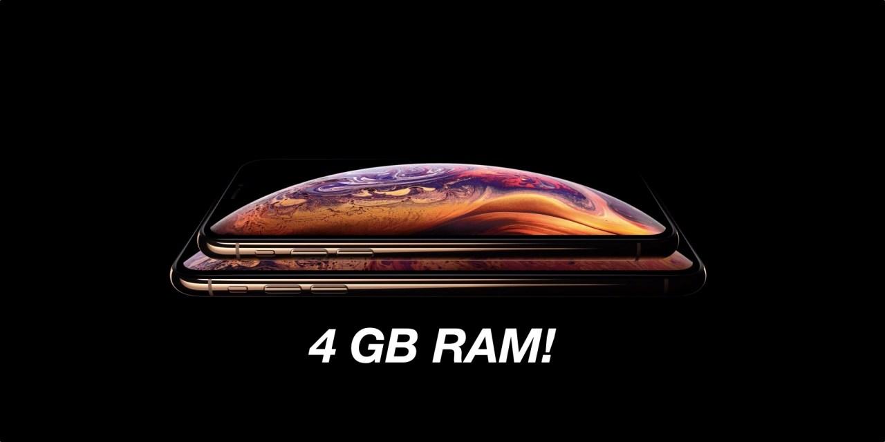 Po co nam 4 GB RAM w iPhone?