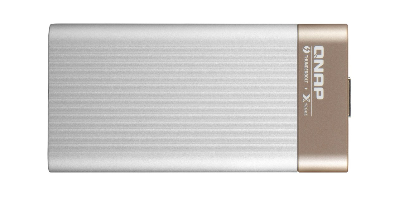Adapter QNAP Thunderbolt 3 do 10GbE - Mój Mac