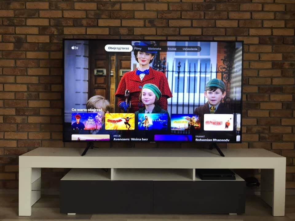 AirPlay 2 i Apple TV w TV Samsung 2