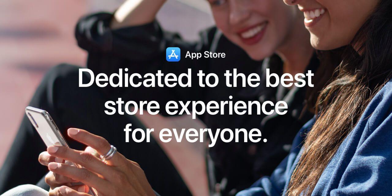 Apple broni App Store