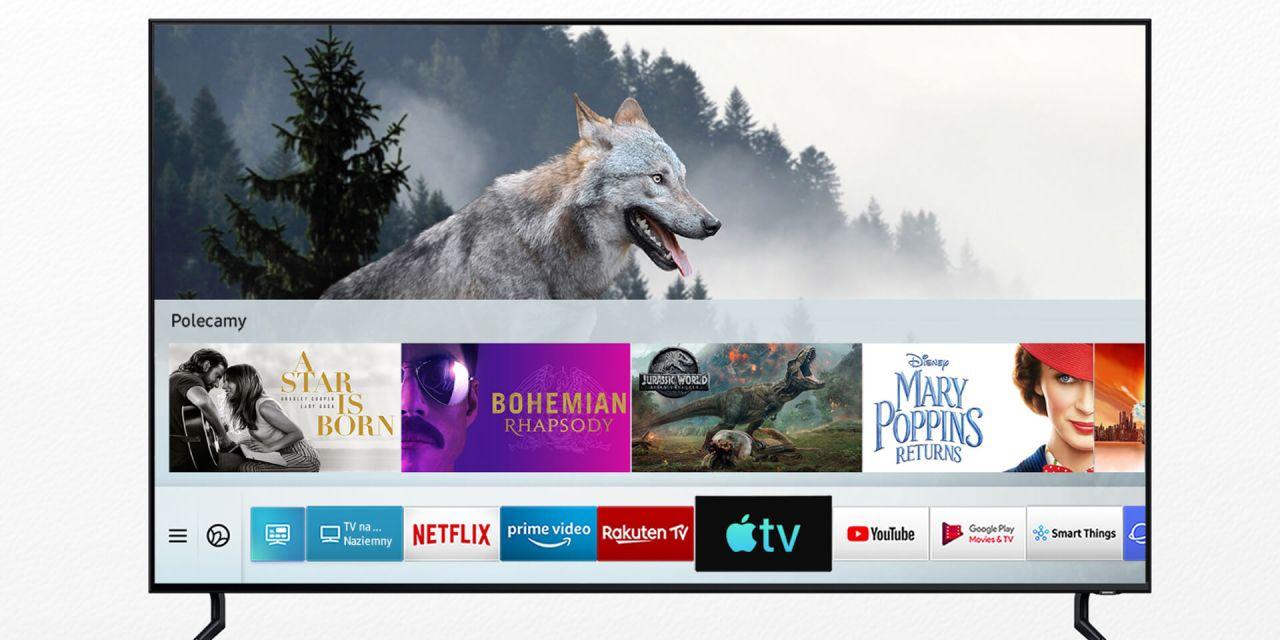 Wszystkie telewizory Samsunga z obsługą AppleTV i AirPlay 2
