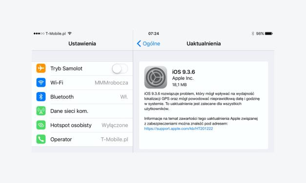 iOS 9 i 10 zaktualizowane, rekord pobity!