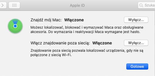 Lokalizator Mac