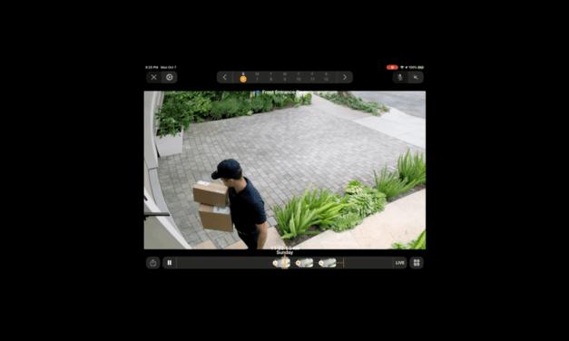 HomeKit Secure Video, jak to może wyglądać?