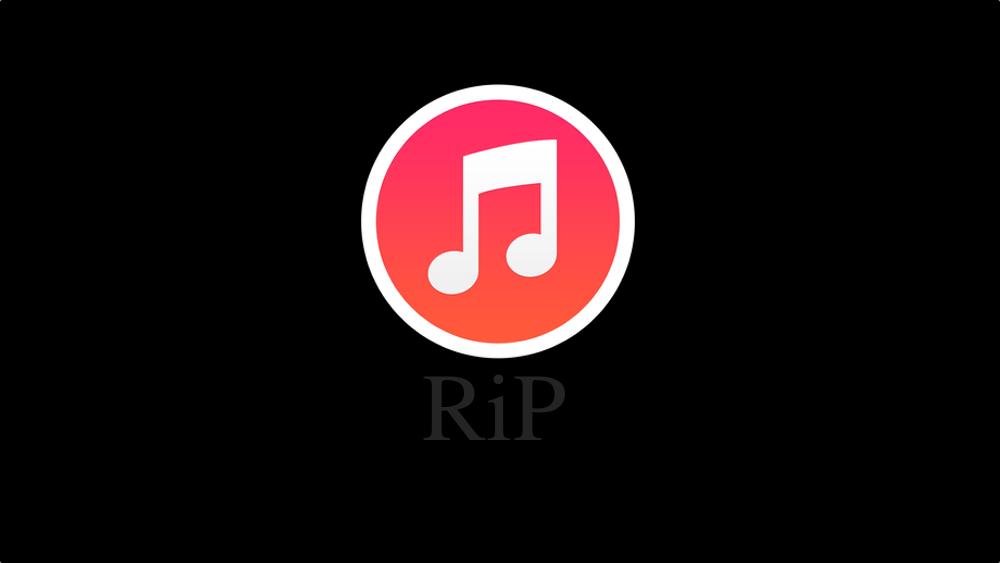 iTunes: 09-01-2001 – 07-10-2019. Niech spoczywa w pokoju!