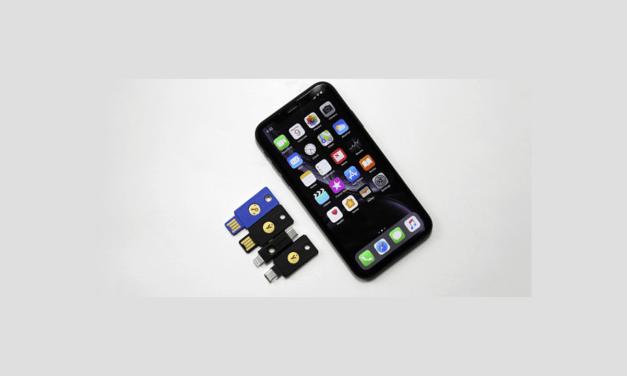 Sprzętowe klucze bezpieczeństwa dla Safari w iOS 13.3