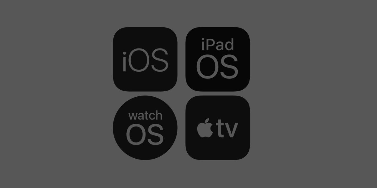 Znów bety iOS, iPadOS, tvOS 13.3, watchOS 6.1.1
