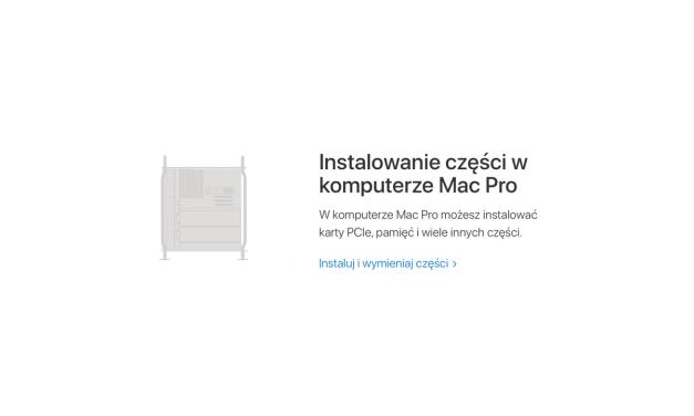 Brakujący element w instrukcjach upgradu Mac Pro?