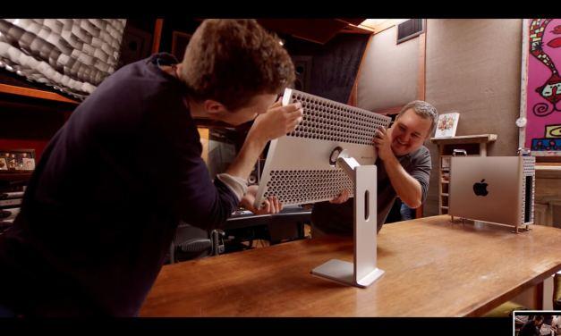 Pro Display XDR i Mac Pro w studiu nagrań… smakowite drobiazgi