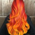 Oranžové vlasy