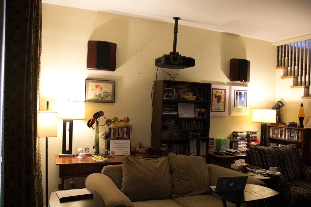 medium resolution of the philips hue bulbs in a more natural low color temperature lighting also showing the