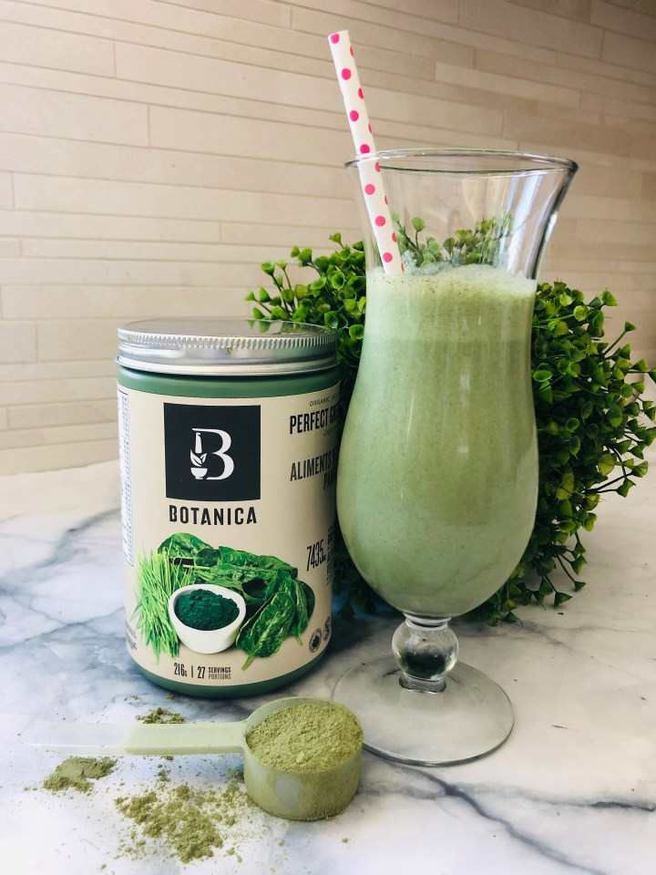 Copy Cat Clean Shamrock Shake with Botanica Greens