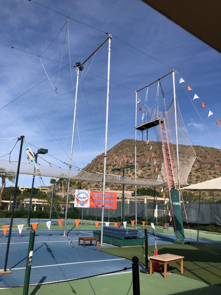 I Fly Trapeze at the Phoenician