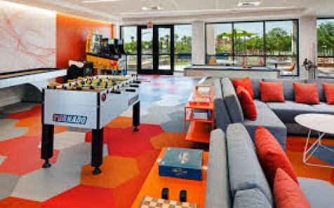 The Phoenician games room