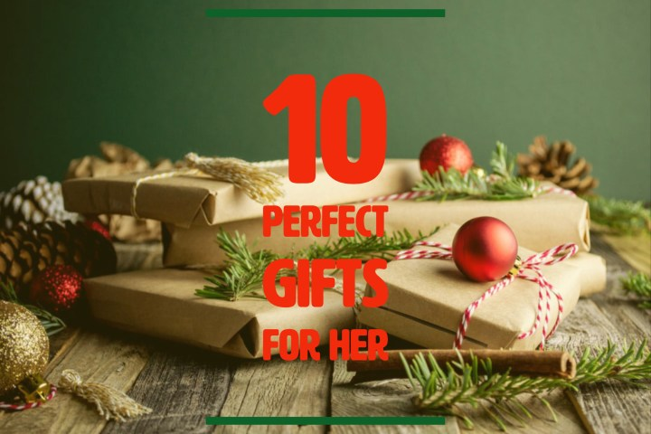 10 Perfect Holiday Gifts for HER: your M & M Gift Guide