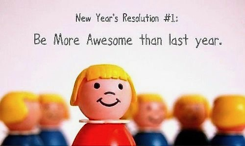 We don't encourage our kids to make New Year's resolutions
