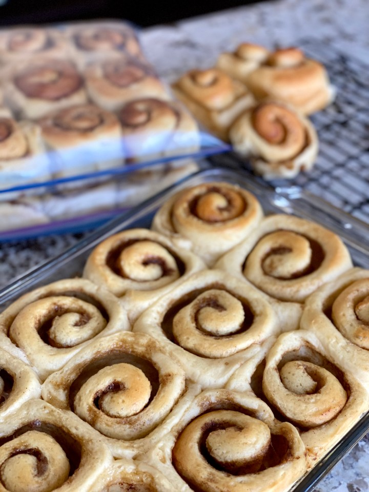 Grammie's Old Fashioned Cinnamon Buns