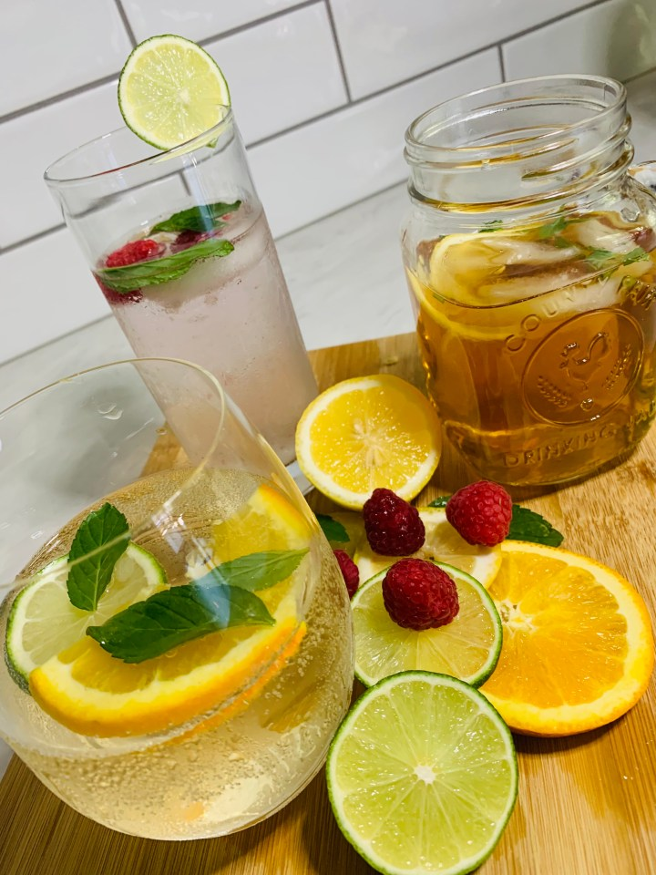 Summer Drinks using a French Press