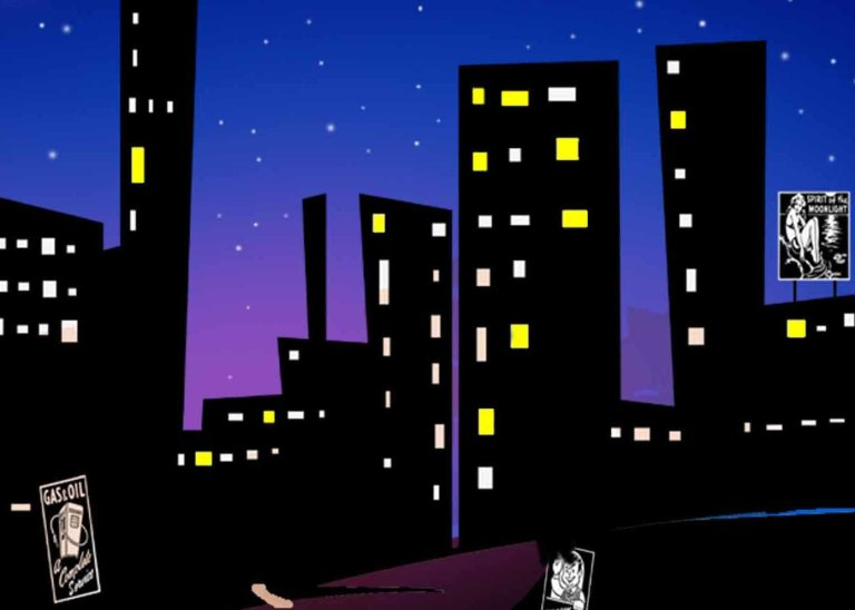 Bright Lights- Big City