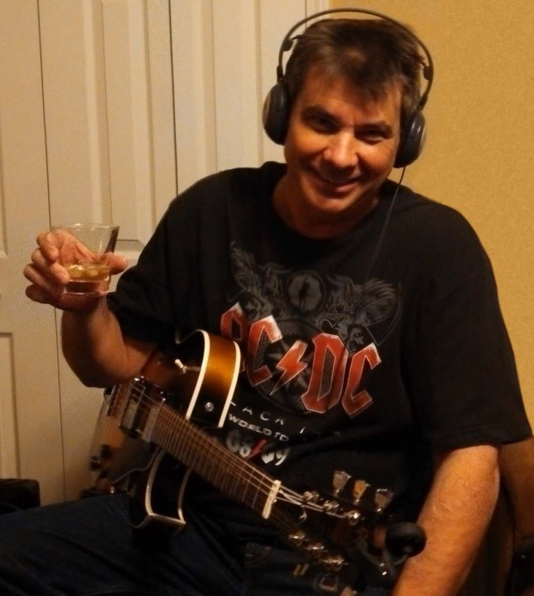 Dave Recording The Whiskey Song